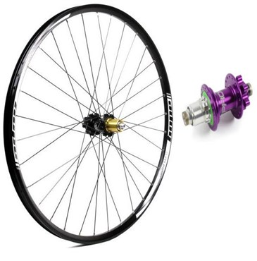 Hope Tech Enduro - Pro 4 27.5 / 650B Rear Wheel - Purple