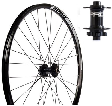 "Hope Tech Enduro S-Pull - Pro 4 Straight-Pull 26"" Front Wheel"
