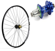 Hope Tech XC - Pro 4 27.5 / 650B Rear Wheel - Blue