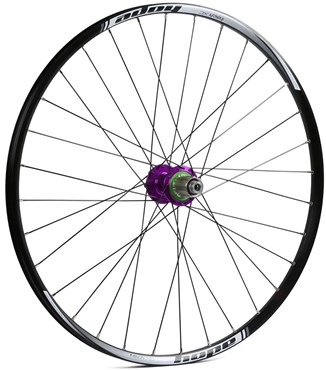 Hope Tech XC - Pro 4 27.5 / 650B Rear Wheel - Purple