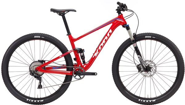 Kona Hei Hei Race 29er Mountain Bike 2017 - XC Full Suspension MTB