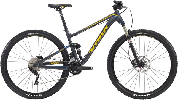 Kona Hei Hei Race Mountain Bike 2016 - XC Full Suspension MTB