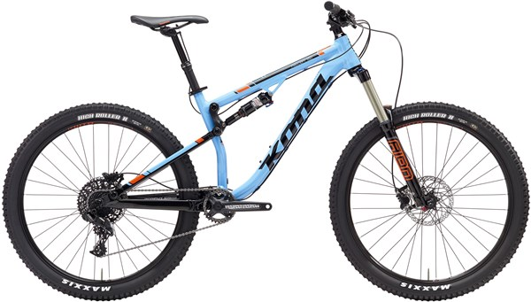 Kona Precept 150 27.5 Mountain Bike 2017 - Full Suspension MTB