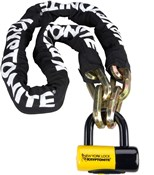 Kryptonite New York Fahgettaboudit Chain and Padlock