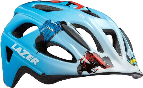 Lazer P Nut Kids Helmet with Free Crazy Nutshell