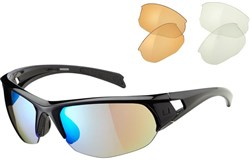 Madison Mission Cycling Glasses 3 Lens Pack 2018