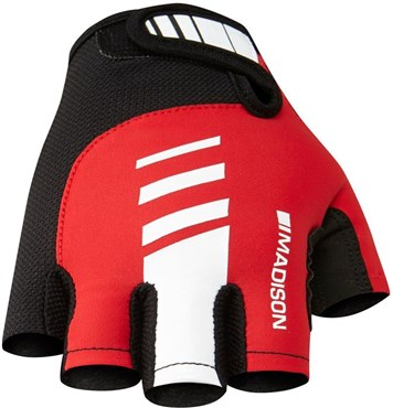 Madison Peloton Mens Mitts Short Finger Cycling Gloves SS17