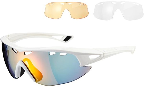 Madison Recon Cycling Glasses 3 Lens Pack 2016