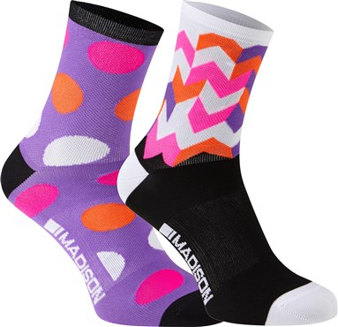Madison Sportive Womens Mid Socks AW17 - Pack of 2