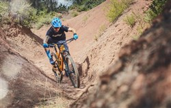 Mondraker Factor RR Mountain Bike 2018 Riding Gulley