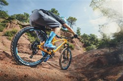 Mondraker Factor RR Mountain Bike 2018 Riding Rear