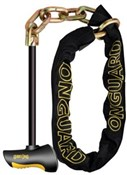 OnGuard Beast Chain with X2 Steel T Bar Chain Lock
