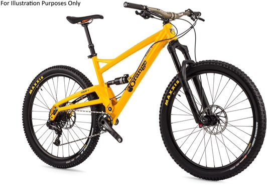 "Orange Four RS 27.5"" Mountain Bike 2017 - Full Suspension MTB"