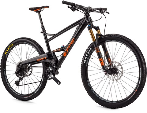 Orange Segment Factory 29er Mountain Bike 2017 - Trail Full Suspension MTB