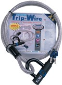 Oxford Tripwire XL Cable Lock With Padlock Built-In