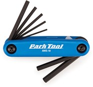 Park Tool AWS10C Fold-up Hex Wrench Set: 1.5 to 6 mm