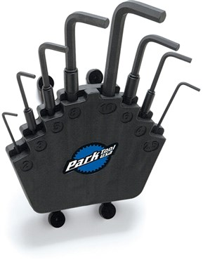 Park Tool HXS2 Professional Hex Wrench Set With Bench Mount / Wall Mount Holder