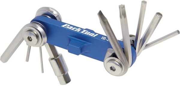 Park Tool IB2C I-Beam Mini Fold-up Hex Wrench Screwdriver / Star Shaped Wrench Set