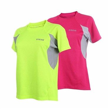 Proviz Active T Womens Short Sleeve Cycling Jersey