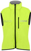 Proviz Switch Womens Cycling Gilet Grey Front