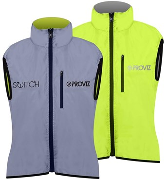 Proviz Switch Womens Cycling Gilet Main Both Colours