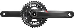 SRAM Crank GX 1400 GXP 2x11 175 Red 36-24 (GXP Cups Not Included)