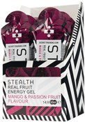 Secret Training Stealth Energy Gel with Real Fruit - 60ml x Box of 14