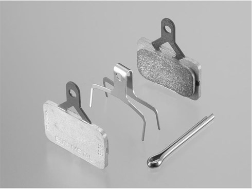 Shimano BR-M575 E01S Metal Disc Brake Pads and Spring