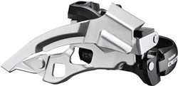 Shimano FD-T610 Deore Front Derailleur - Top-Swing - Dual-Pull And Multi Fit - 66-69 Degrees