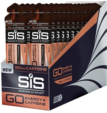 SiS GO Plus Caffeine Gel - 60ml x Box of 30