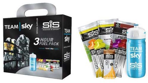 SiS Sky 3 Hour Fuel Pack with Bottle