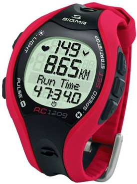 Sigma RC 1209 Heart Rate Monitor Computer Sports Wrist Watch