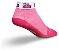 SockGuy Low Cut Flying Pig Womens Socks