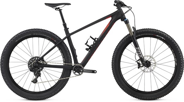 "Specialized Fuse Expert Carbon 6Fattie  27.5""  Mountain Bike 2017 - Hardtail MTB"