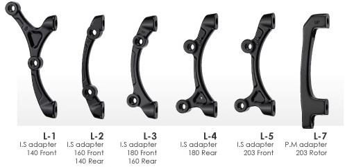 Tektro Lyra Mounts / Brake Adaptors