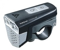 Topeak SoundLite USB Rechargeable Front Light